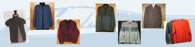 Alpaca Sweaters Collage